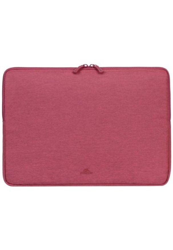 Czerwone etui na laptopa RIVACASE eleganckie