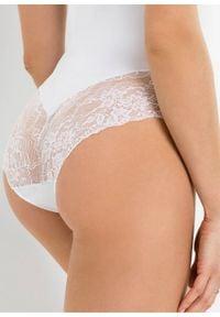 Body shape Level 2 bonprix biały. Kolor: biały
