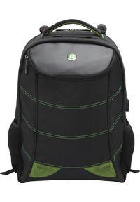 "Plecak BESTLIFE PLECAK NA 17"" NOTEBOOK SNAKE EYE GAMING USB ZIELONY BB-3332GE. Kolor: zielony"