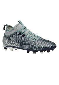 KIPSTA - Buty do piłki nożnej Agility 900 MID FG damskie. Kolor: niebieski. Materiał: mesh, syntetyk
