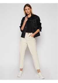 Czarna kurtka jeansowa Vans