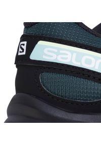 Zielone buty do biegania salomon z cholewką, Salomon Speedcross