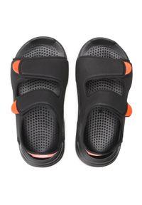 Adidas - Sandały adidas - Swim Sandal C FY8936 Cblack/Cblack/Ftwwht. Kolor: czarny. Materiał: materiał. Sezon: lato