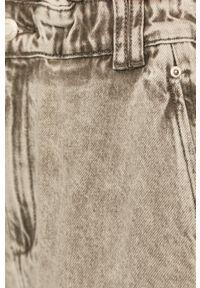 TALLY WEIJL - Tally Weijl - Jeansy. Stan: podwyższony. Kolor: szary