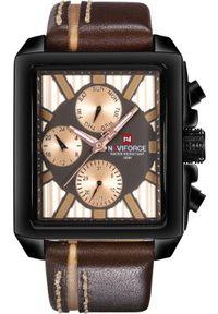 Brązowy zegarek Naviforce