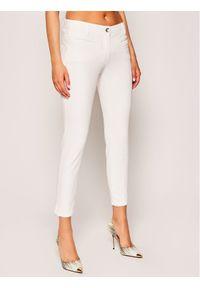 Białe jeansy slim Laurèl