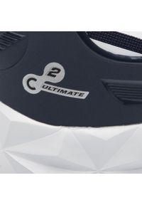 Niebieskie sneakersy EA7 Emporio Armani z cholewką