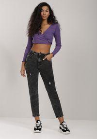Czarne jeansy Renee