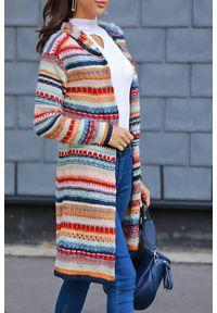 Wielokolorowy sweter IVET na zimę, w paski