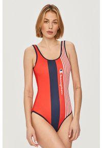 Czerwony strój kąpielowy Champion