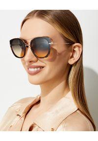 Tom Ford - TOM FORD - Okulary przeciwsłoneczne Joey. Kolor: czarny