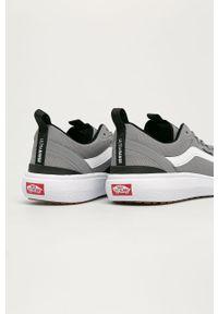 Szare sneakersy Vans na sznurówki, z okrągłym noskiem #5