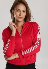 Renee - Czerwona Bluza Rhenelaeno. Kolor: czerwony