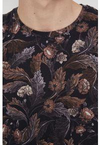 medicine - Medicine - T-shirt bawełniany Tapestry. Kolor: brązowy. Materiał: bawełna