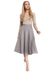 Spódnica rozkloszowana MOE elegancka, do kolan