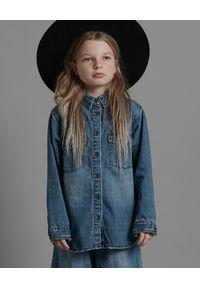 ONETEASPOON KIDS - Jeansowa koszula Ranch 5-12 lat. Okazja: na co dzień. Kolor: niebieski. Materiał: jeans. Sezon: lato. Styl: młodzieżowy, klasyczny, casual, retro