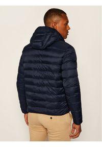 Niebieska kurtka puchowa Armani Exchange