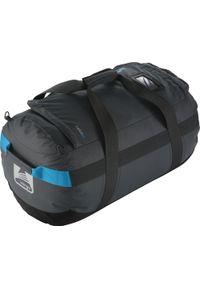 Vango plecak Cargo 80L Carbide Grey. Kolor: czarny. Materiał: materiał