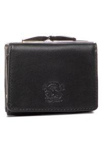 Czarny portfel Stefania