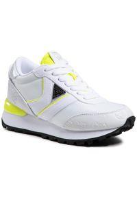 Guess Sneakersy Samsin FL5SIN FAL12 Biały. Kolor: biały