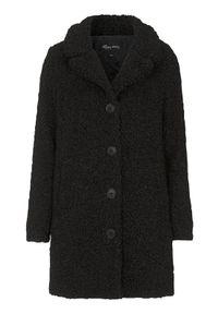 Czarna kurtka Happy Holly na zimę, plus size