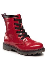 Czerwone śniegowce Tom Tailor