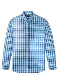 Niebieska koszula bonprix sportowa