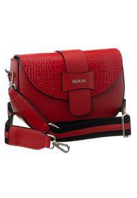 Czerwona torebka Badura