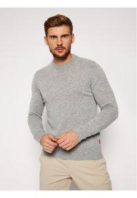 Szary sweter klasyczny Woolrich
