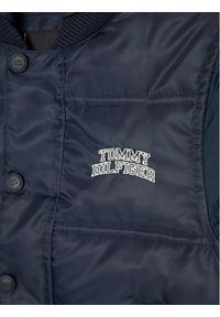TOMMY HILFIGER - Tommy Hilfiger Kurtka puchowa Hooded Padded Quil Ted KB0KB05991 M Granatowy Regular Fit. Kolor: niebieski. Materiał: puch