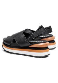 Czarne sandały Gioseppo #7