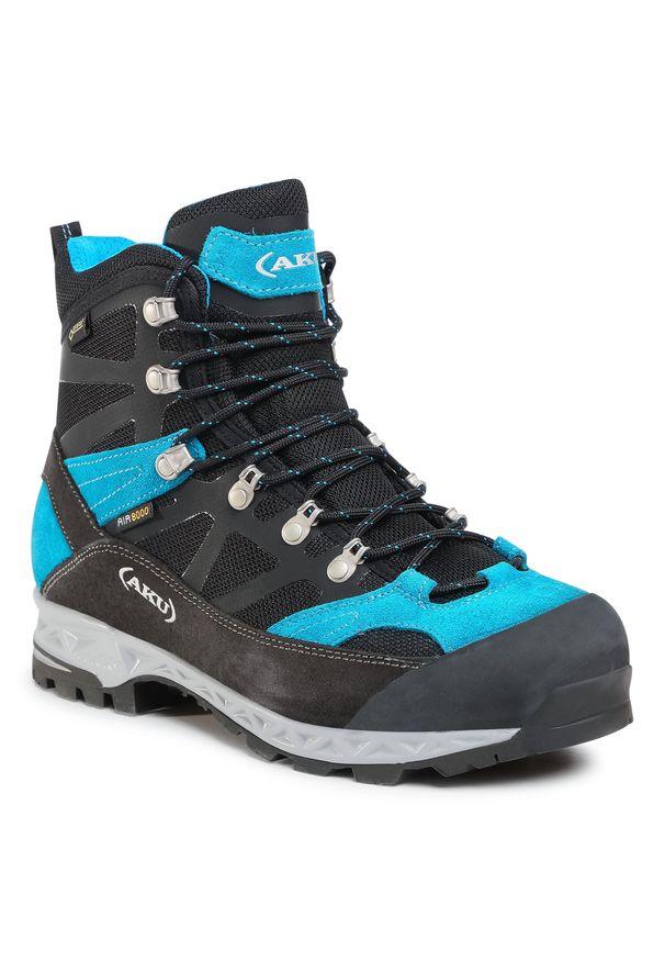Czarne buty trekkingowe Aku Gore-Tex, trekkingowe
