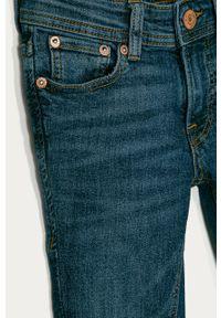 Niebieskie jeansy Jack & Jones gładkie