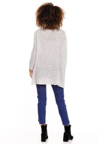 Sweter klasyczny, długi