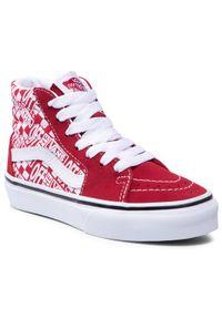 Vans Sneakersy Sk8-Hi VN0A4BUW3VB1M Czerwony. Kolor: czerwony. Model: Vans SK8