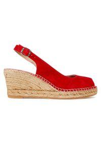 Czerwone sandały Toni Pons