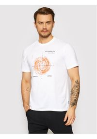 Only & Sons - ONLY & SONS T-Shirt Mogens 22019013 Biały Regular Fit. Kolor: biały