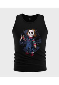 MegaKoszulki - Koszulka męska bez rękawów Chucky. Materiał: bawełna. Długość rękawa: bez rękawów