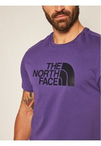 Fioletowy t-shirt The North Face
