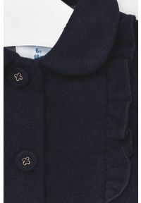 Niebieski płaszcz Mayoral bez kaptura, krótki
