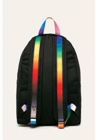 Czarny plecak Calvin Klein z nadrukiem