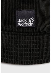 Jack Wolfskin - Kapelusz. Kolor: zielony. Materiał: materiał