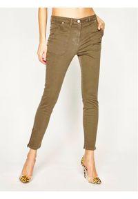 Zielone jeansy slim TOMMY HILFIGER