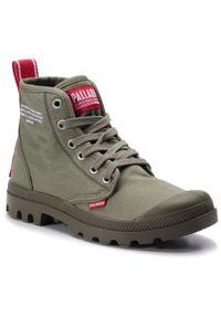 Zielone buty trekkingowe Palladium