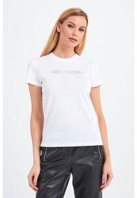 T-shirt Karl Lagerfeld na co dzień, casualowy