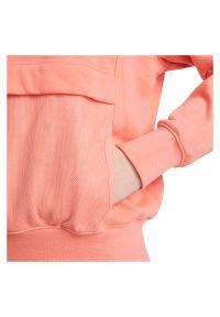 Bluza damska Nike Sportswear Air Hoody CZ8620. Typ kołnierza: kaptur. Materiał: poliester, dzianina, materiał, bawełna. Wzór: haft, nadruk, aplikacja