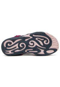 RenBut - Sandały RENBUT - 31-4401 Granat/Amarant 2. Okazja: na co dzień. Kolor: różowy. Materiał: skóra, zamsz. Wzór: aplikacja. Styl: casual #4