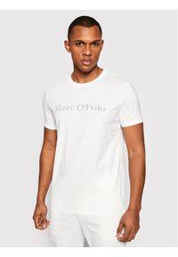 Marc O'Polo T-Shirt 123 22205 1230 Biały Regular Fit. Typ kołnierza: polo. Kolor: biały