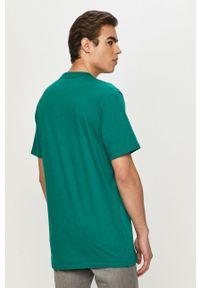 Zielony t-shirt Prosto. na co dzień, casualowy, z nadrukiem