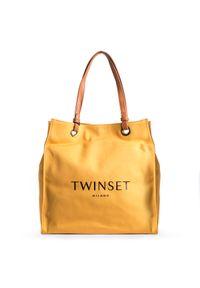 Walizka TwinSet z nadrukiem